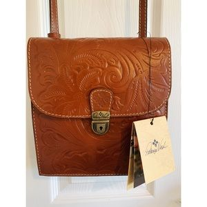 Patricia Nash Tooled Leather Cross-body Purse